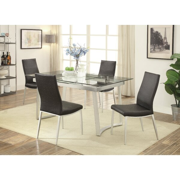 Stone Street 5 Piece Extendable Dining Set by Wrought Studio