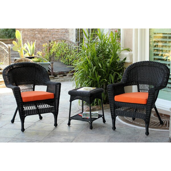 Byxbee 3 Piece Seating Group with Cushions August Grove W000589483