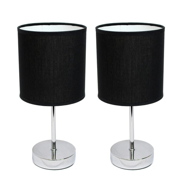 Ariana 11.89 Table Lamp (Set of 2) by Zipcode Desi