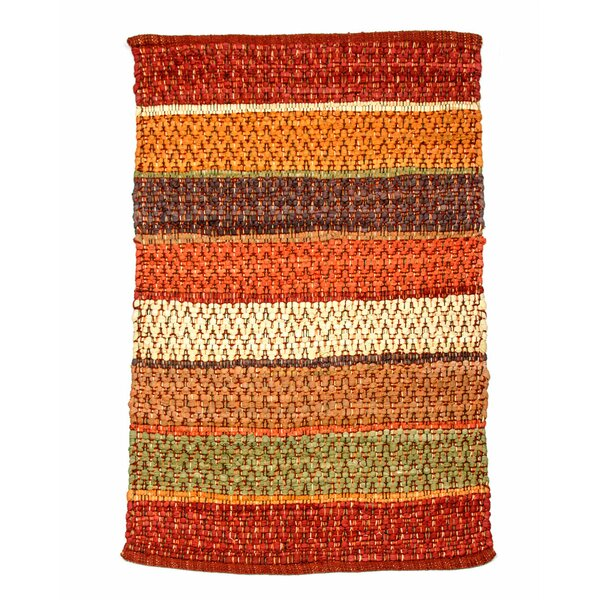 Hudson Herringbone Saffron Area Rug by CLM