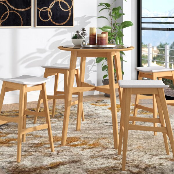 Fletcher 5 Piece Pub Table Set by Langley Street