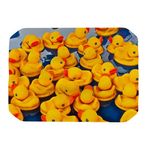 Duckies Placemat by KESS InHouse