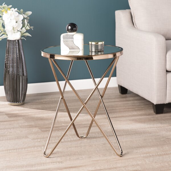 Hardage End Table by Wrought Studio