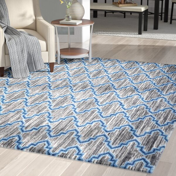 Bennet Gray/Blue Indoor/Outdoor Area Rug by Latitude Run
