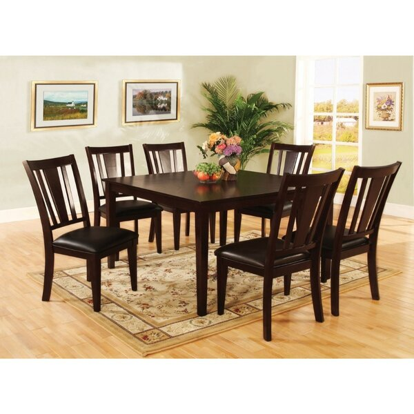Moody Transitional Counter Height 7 Piece Pub Table Set by Winston Porter