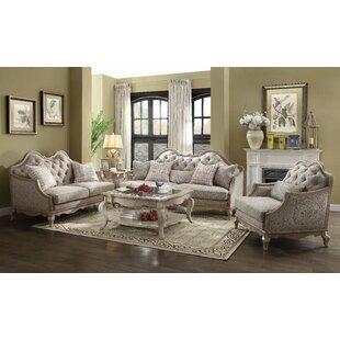 Barbieri 3 Piece Standard Living Room Set by One Allium Way®