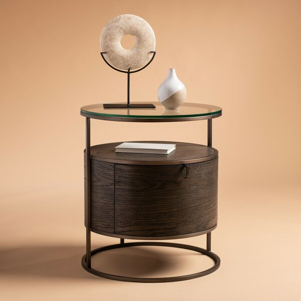 Hruska Rodgers 1 Drawer Nightstand by Orren Ellis
