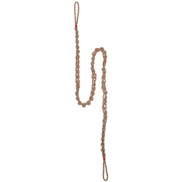 Braided Chain Garland (Set of 2) by The Holiday Aisle