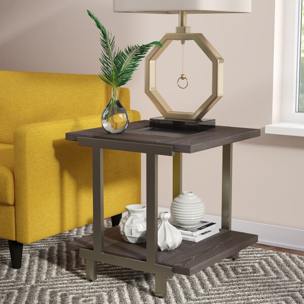 Cortlandt End Table by Ivy Bronx