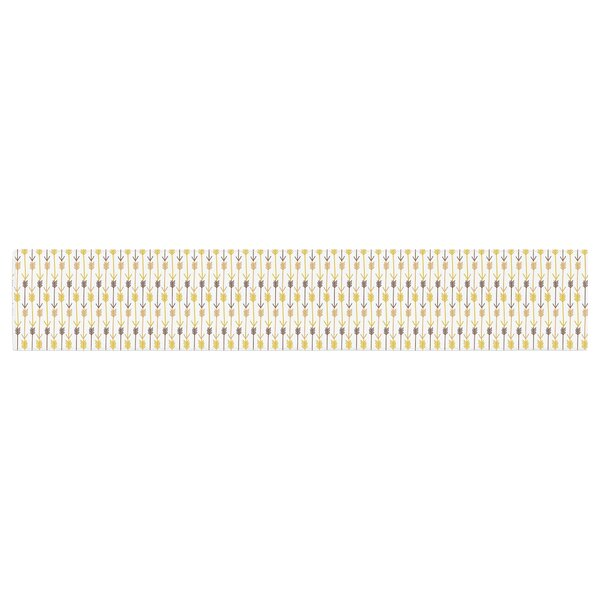 Petit Griffin Arrows Table Runner by East Urban Home