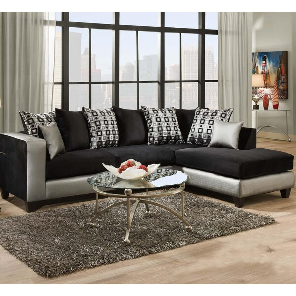 Borrero Right Hand Facing Sectional by Everly Quinn Everly Quinn