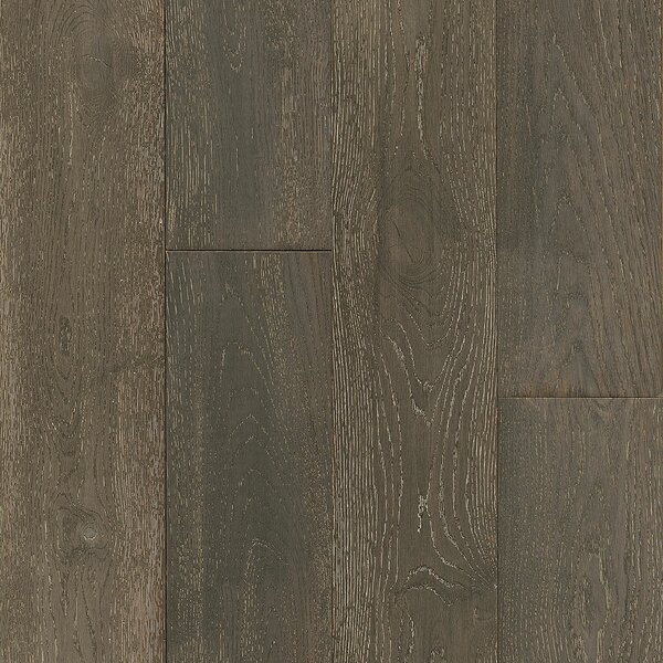 7-1/2 Engineered Oak Hardwood Flooring in Limed Industrial Style by Armstrong Flooring