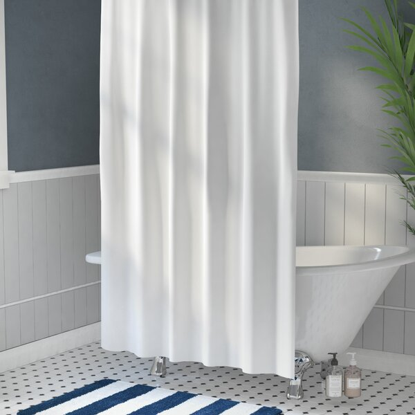 Vinyl Shower Curtain Liner by Symple Stuff