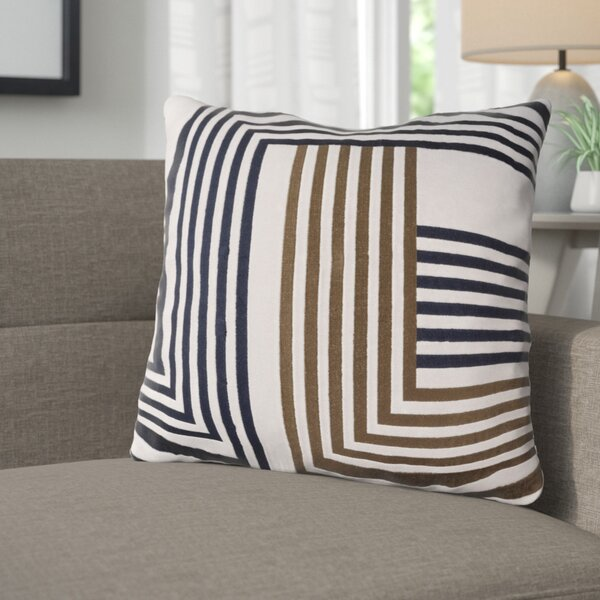 Sandrine Cotton Throw Pillow by Corrigan Studio