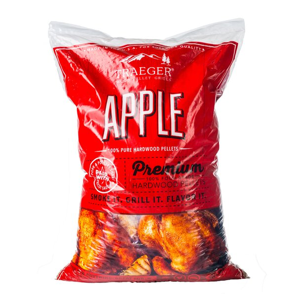 Traeger Apple Hardwood Pellets by Traeger Wood-Fir