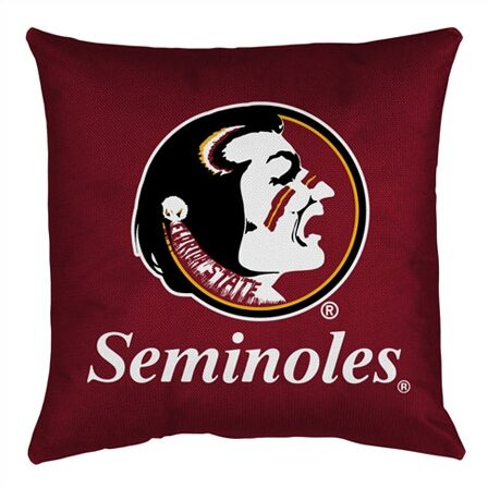 NCAA Throw Pillow by Sports Coverage Inc.