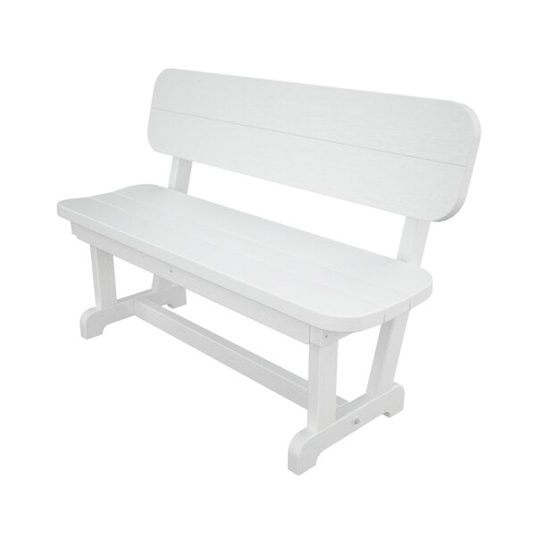 Park Plastic Convertible Bench by POLYWOOD®
