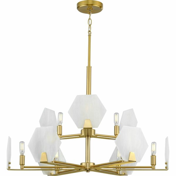 Harbert 9 - Light Unique Tiered Chandelier By Everly Quinn
