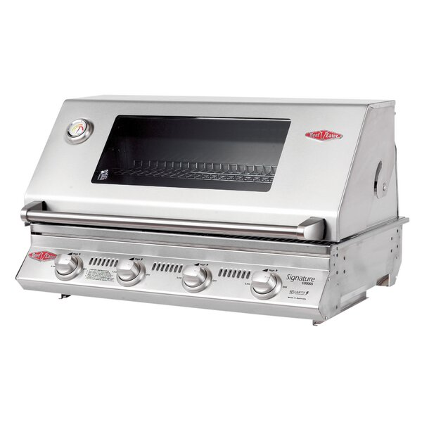 Signature Series BBQ 4-Burner Built-In Gas Grill by BeefEater