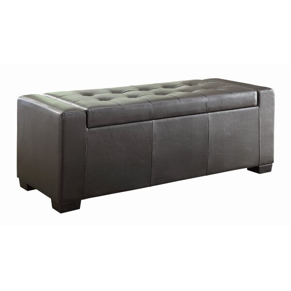 Tigard Upholstered Storage Bench by Woodhaven Hill
