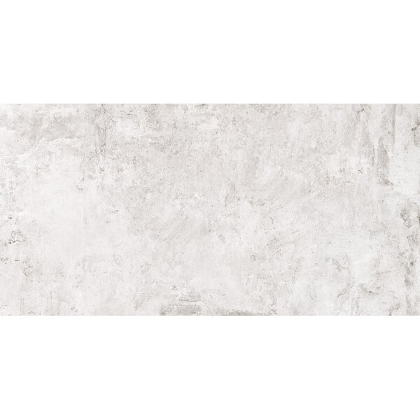 Cement Series 18 x 36 Porcelain Field Tile in White by RD-TILE