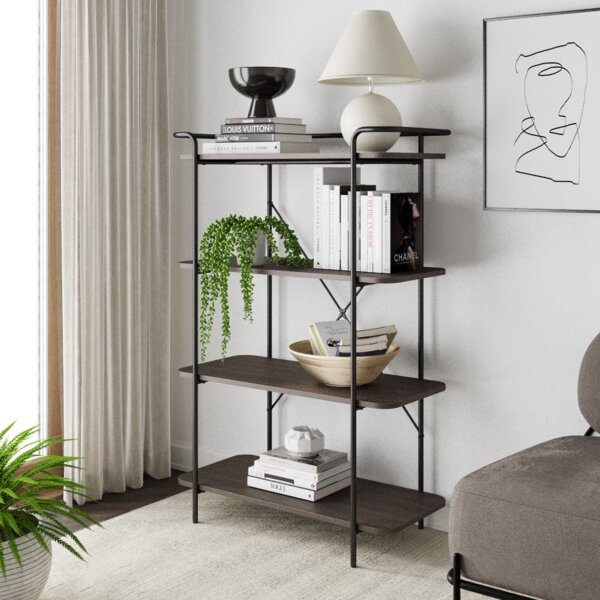 Affordable Alfrik Etagere Bookcase by Gracie Oaks