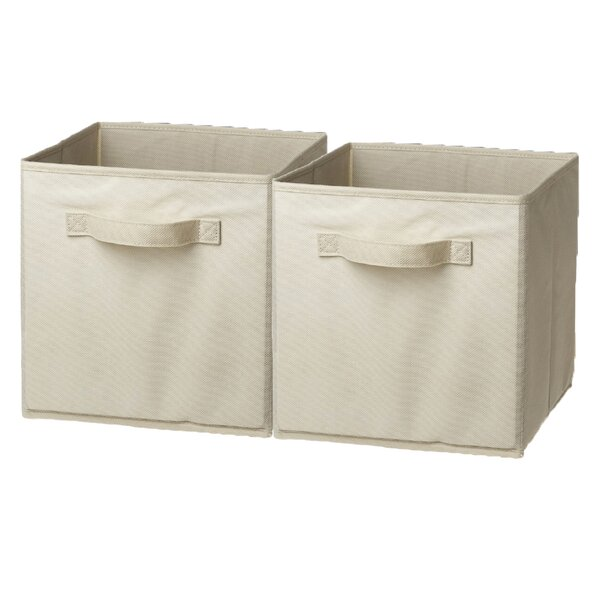 Foldable Storage Basket (Set of 2) by Sorbus