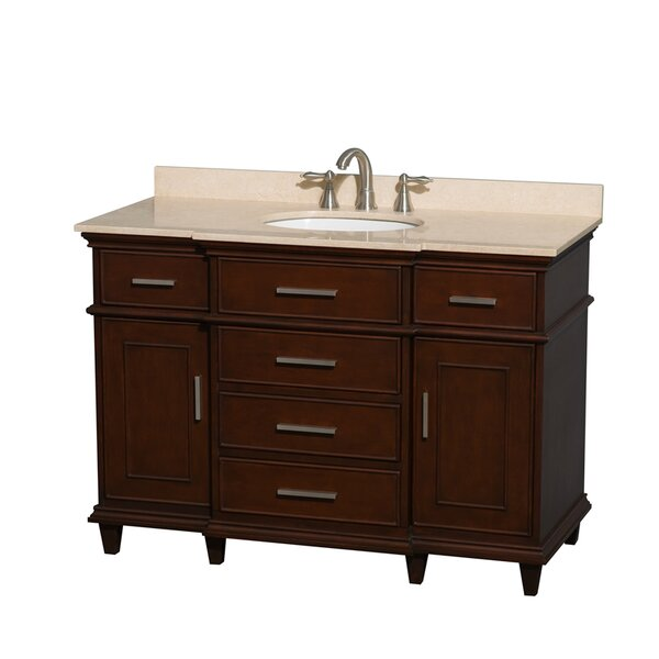 Berkeley 48 Single Bathroom Vanity Set by Wyndham Collection