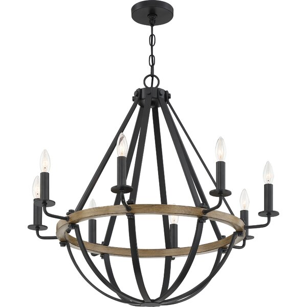 Thiele 8 - Light Candle Style Empire Chandelier By Gracie Oaks