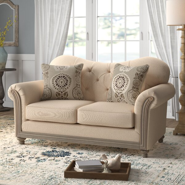 Upholstery Loveseat by Feminine French Country Feminine French Country
