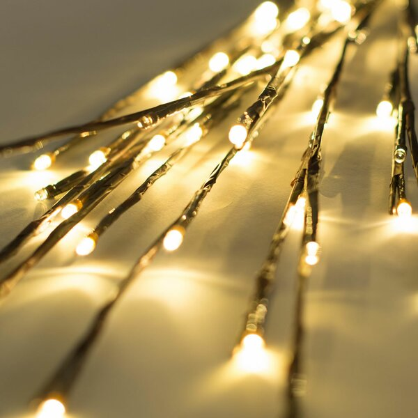 60 Light LED Wide Angle Twinkling Light by The Holiday Aisle