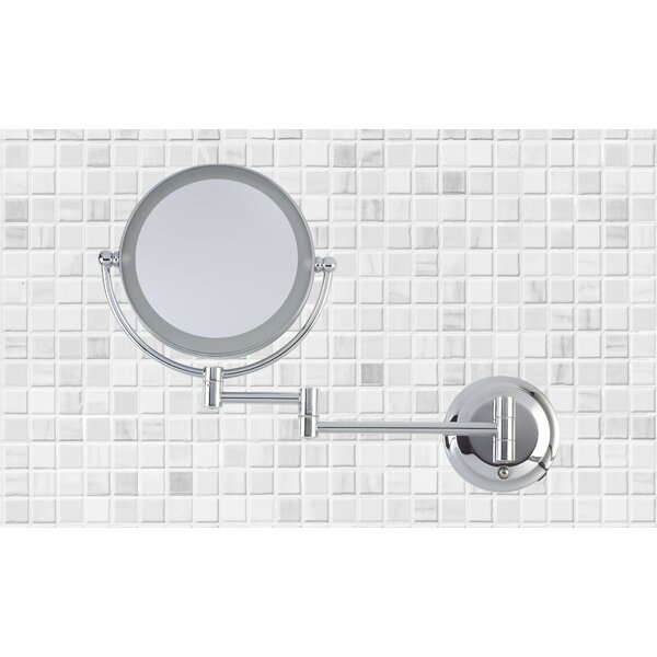Dual Power LED Wall Mount Mirror by Danielle Creations