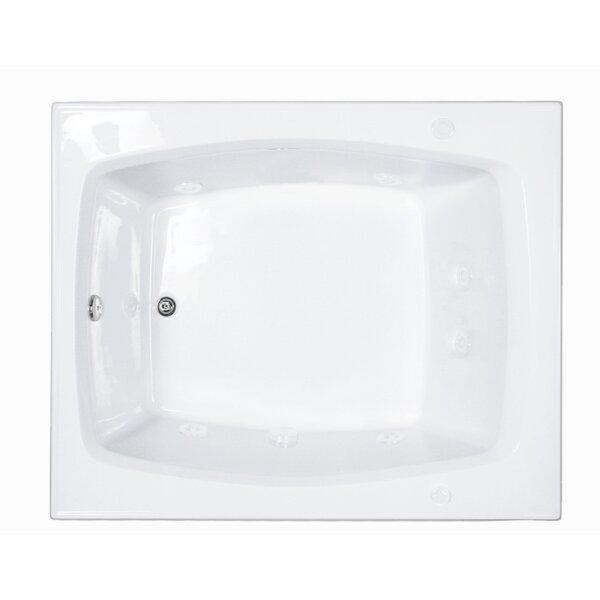 Reliance 59 x 48 Whirlpool Bathtub by Reliance