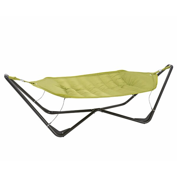 Gondola Cotton and Polyester Hammock with Stand by TrueShade™ Plus