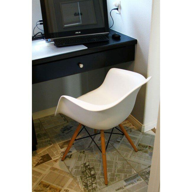 Mid Century Modern Scandinavian Solid Wood Dining Chair