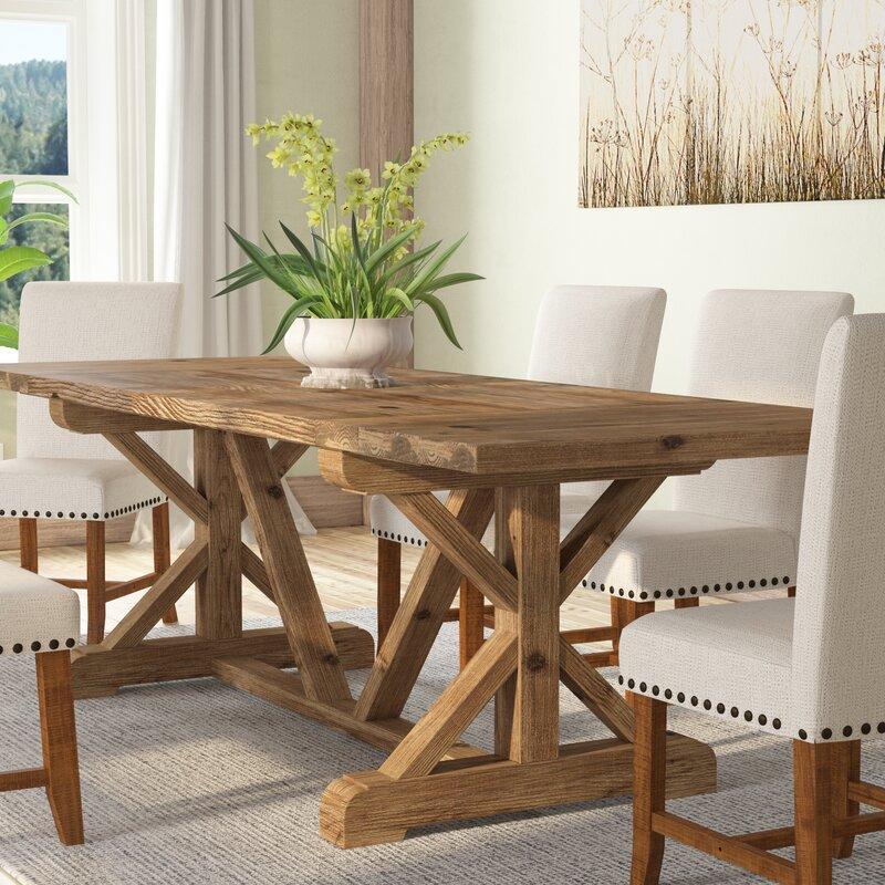 Gracie Oaks Camden Den Wood Extendable Dining Table & Reviews | Wayfair