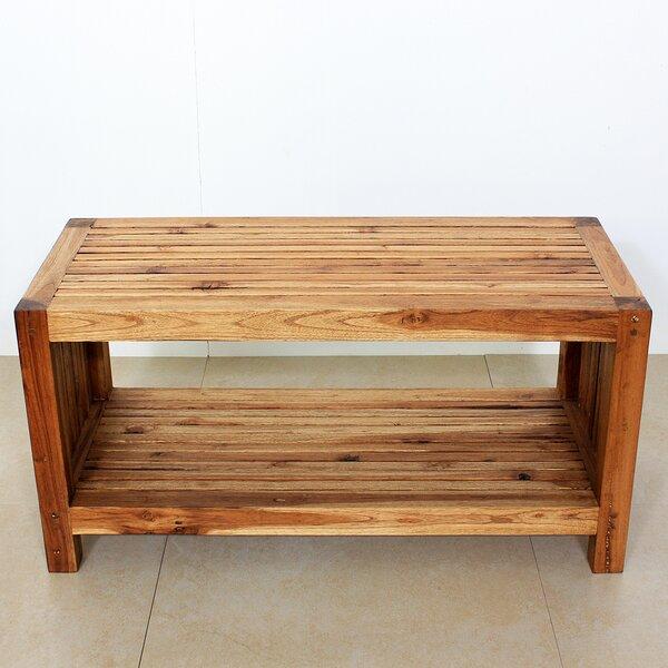 Pedrick Slat Coffee Table by Union Rustic