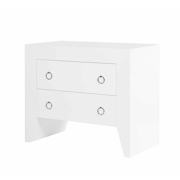 2 Drawer Accent Chest