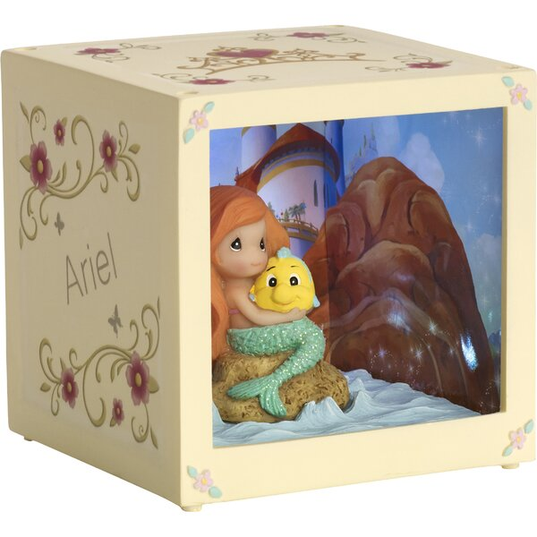 Disney Showcase Ariel Resin/Vinyl LED Decorative Box by Precious Moments