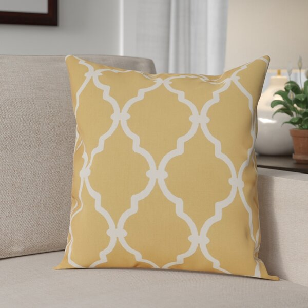 Reuter Trellis Throw Pillow by Andover Mills