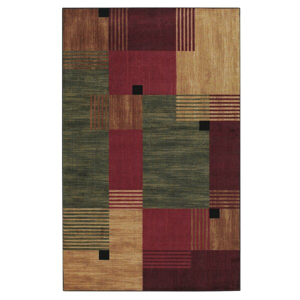 Calvin Geometric Area Rug by Andover Mills