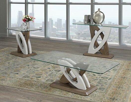 Bovey 3 Piece Coffee Table Set By Orren Ellis