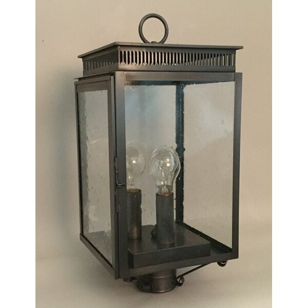 1800 Series 3-Light Lantern Head by Brass Traditions