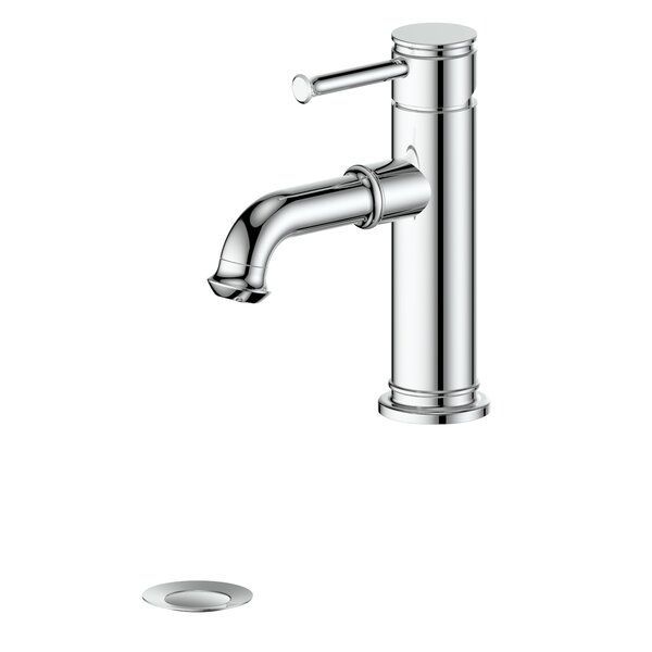 Carnelian Centerset Bathroom Faucet With Drain Assembly By ZLINE Kitchen And Bath