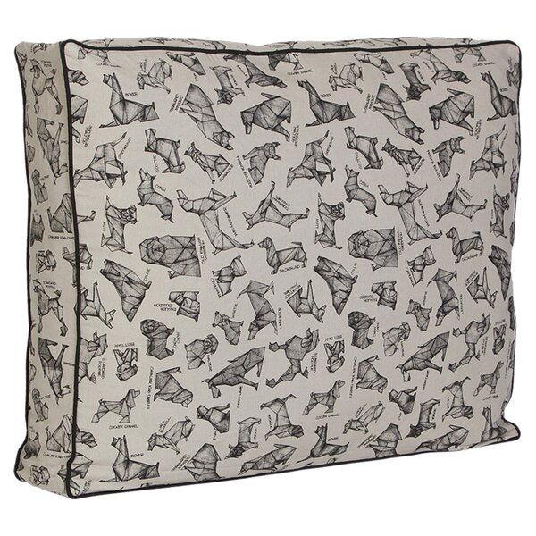 Origami Dog Pillow by Unleashed Life