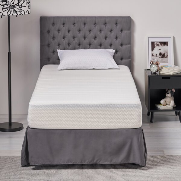 Verna 10.25 inch Firm Memory Foam Mattress by Alwyn Home