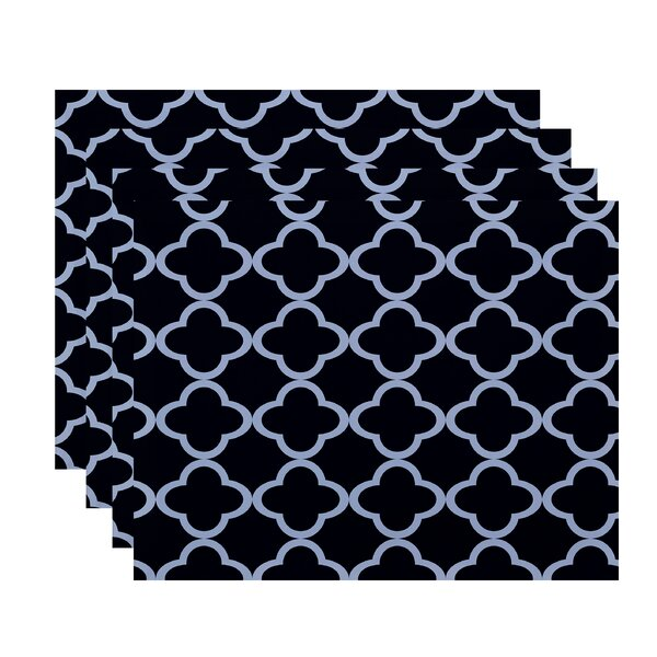 Floriana Geometric Placemat (Set of 4) by Ivy Bronx