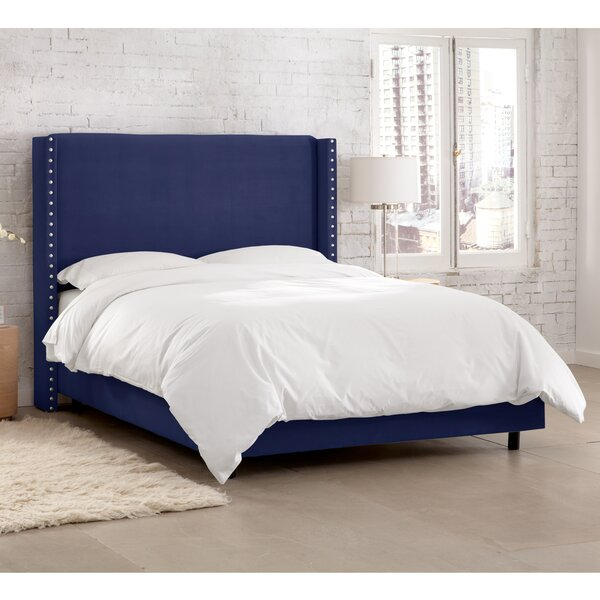 Peoria Upholstered Standard Bed by Darby Home Co