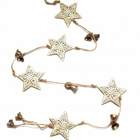 Metal Star Garland by The Holiday Aisle
