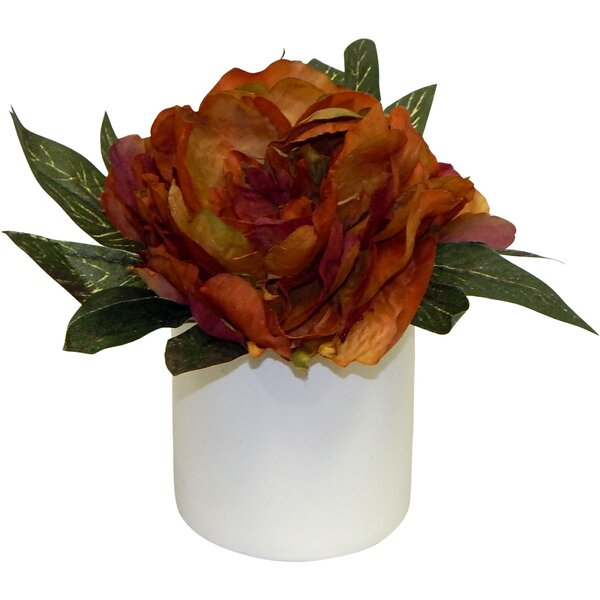 Fall Peony Centerpiece by Charlton Home